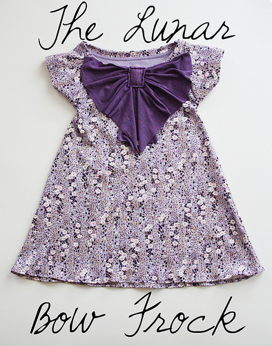 such a sweet dress for little girls! Tutorial from Happy Together.