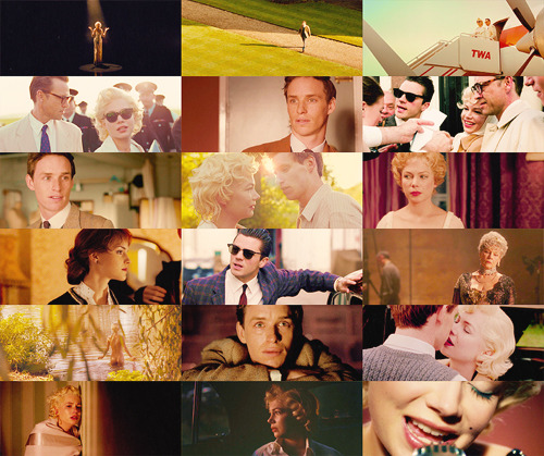 - Don't forget me. - As if I could. my week with marilyn ; simon curtis (2011)