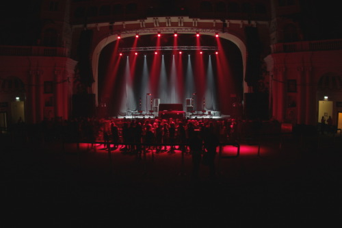 Still from Zane Lowe & Skrillex at Brixton Academy on friday night. Had such a blast shooting here for Zane, he's a quality dude and an amazing dj. And as much as i dislike Skrillex's music, he put on a madly impressive visual show, nearly topped Chemical Brothers for me (not quite though). Makes you wander what level live visuals will be at in 5 or 10 years time as its becoming an increasingly important aspect for producers and djs shows.