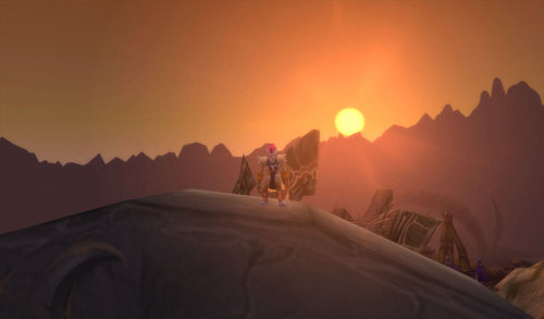 Sithilus sunset. Beautiful.