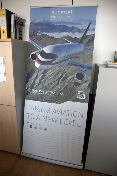 Just arrived in the office!! 'Taking aviation to a New Level' #SJInt #Aviation #Avgeek