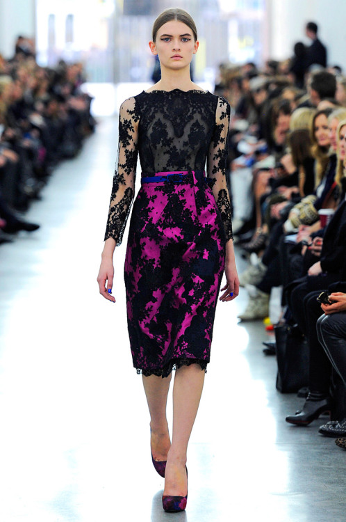 fashion-ocd:  Erdem Fall 2012
