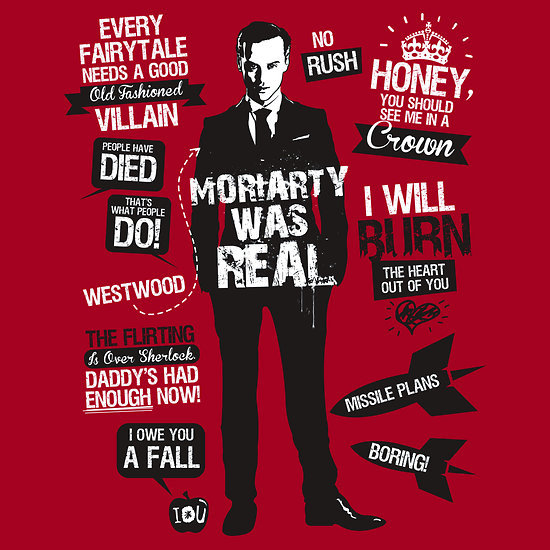 """Moriarty Quotes"" by Tom Trager. Sherlockians Rejoice!