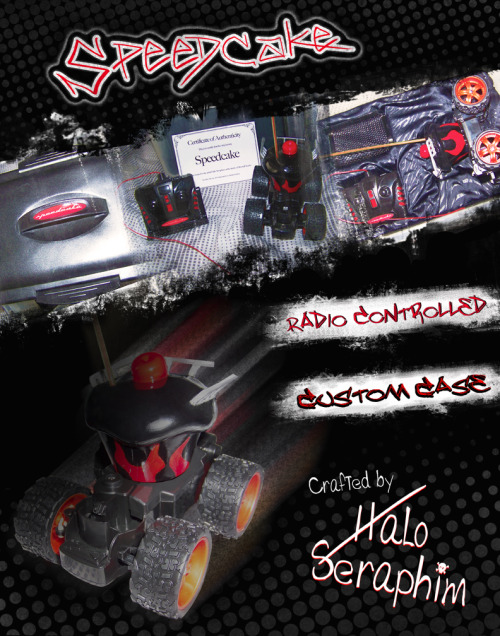 Halo's custom, cupcake R/C car was featured on the official DIY Miss Cupcake website!