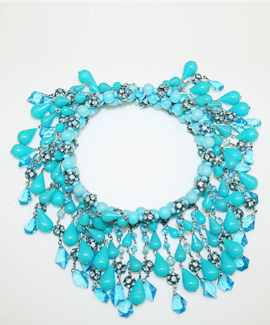 tumblr lzt00dNXXf1qa2i47o1 400 Necklace, House of Dior. French, circa 1965. [Via the...