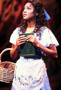 "racebentdisney:  disneytrivia:  Toni Braxton made her Broadway debut as Belle in Beauty and the Beast beginning September 9, 1998, when she replaced Kim Huber. During her run in the show Alan Menken wrote a new song for the musical called ""A Change in Me,"" which was specially written for Braxton and has been used in the musical ever since. Her role in Beauty and the Beast marked the first (and only) time a black woman commanded the leading role of Belle on Broadway. It also marked the first time a black woman would star in a Disney musical on Broadway.  Suggested by starshone-storm"