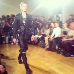 First look at #MatthewMiller #lfw #attheshows  (Taken with instagram)