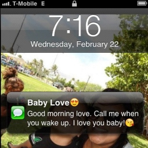 ❤ #love #goodmorning #text #iphone #him #babylove #husband #heart #instagram #textoftheday #cute  (Taken with instagram)