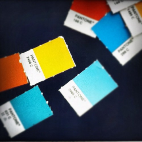 Pantone-ing (Taken with instagram)