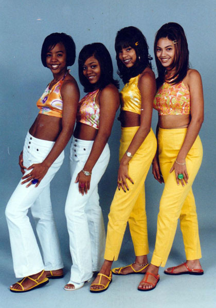 Oh you know… just a photo of the original Destiny's Child.