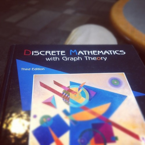 Math will be the fucking death of me (Taken with instagram)