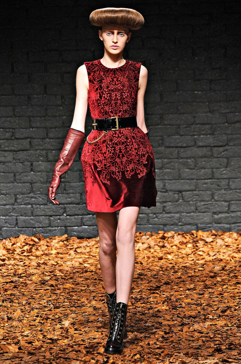 vogue:  McQ Fall 2012 Photo: Marcio Madeira/firstVIEWVisit Vogue.com for the full collection and review.