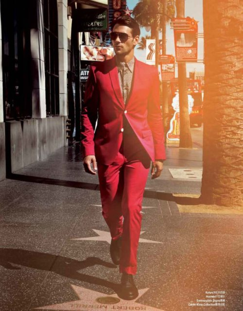 "mannenmode:  ""Springtime in Hollywood"" by Chiun-Kai Shih for GQ Taiwan."