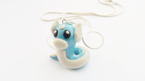 Dratini Necklace By WTFcharms