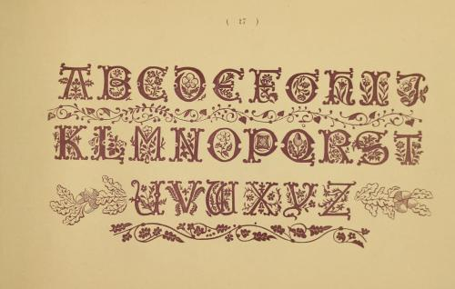 From 1891, a book of alphabets, monograms, and borders for use in embroidery. Needlework-related books we've digitized from our Cooper-Hewitt National Design Museum Library seem to be some of our most popular for downloading this week.