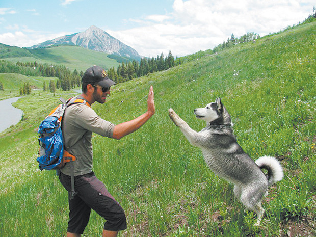 Images from the Mountain Gazette annual dog photo contest, where people take pics of themselves and their dogs in the outdoors. View the winners here.