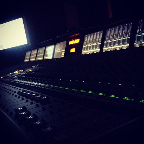 lightsoff. #class #school #AISF #studio #SSL (Taken with instagram)