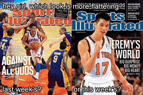 Hey girl, it's Jeremy Lin