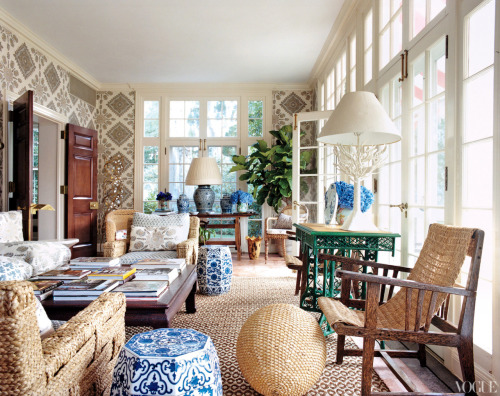 prettystuff:  Tory Burch's South Hampton Home