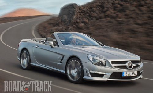 2013 Mercedes-Benz SL63 AMG  - The ultimate SL roadster is headed to Geneva. (Source: Road & Track)