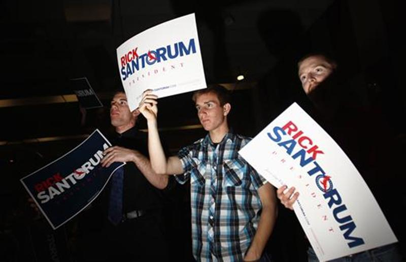 "After months on the sidelines, Rick Santorum finally gets his chance at center stage in a debate of Republican presidential candidates on Wednesday, as well as the increased scrutiny that comes with it. Santorum, surging in opinion polls, is likely to face tough questions over his strong conservative views on social issues when he and rivals Mitt Romney, Newt Gingrich and Ron Paul gather for the 8 p.m. EST debate sponsored by CNN. With the March 6 ""Super Tuesday"" nominating contests in 10 states approaching, this may be the last major opportunity for all the candidates to make their case before a national audience on why they should be the Republicans' choice to face President Barack Obama in the November 6 election. Read more: At Arizona debate, Santorum to get his turn in spotlight"
