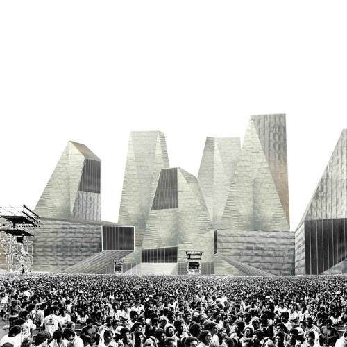Mansilla+Tuñón - Competition winning entry for the Museum of Migrations and Territories, Algeciras, 2007. Previously, today.