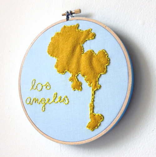Los Angeles. My newest piece. @ilgattoselvatico
