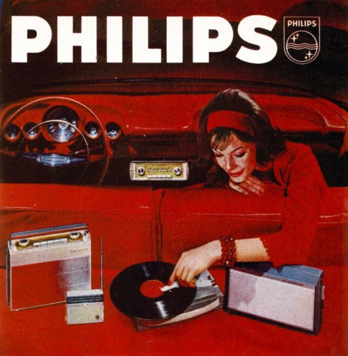 vinylespassion:  Philips portable radios & record player (1963)
