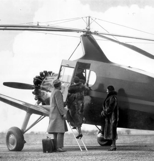 """Pitcairn P-19 Autogiro was the largest American autogiro built. Five were constructed but it failed to find a market due to the Depression"" (via)"
