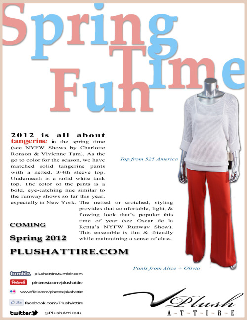Plush Attire's Spring Time Fun Style Tip #4