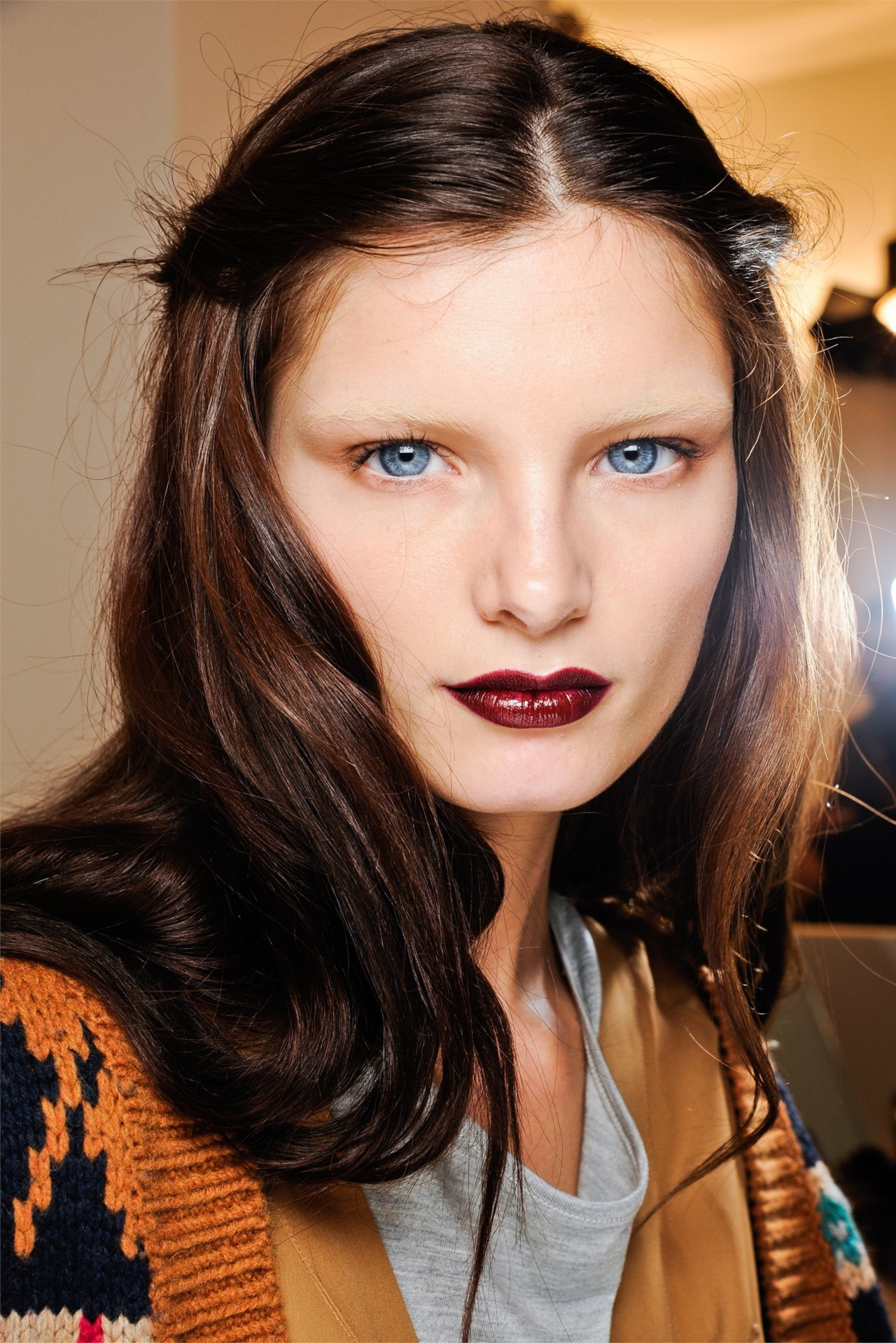 the hair and make up at gucci were simply *GLAM*