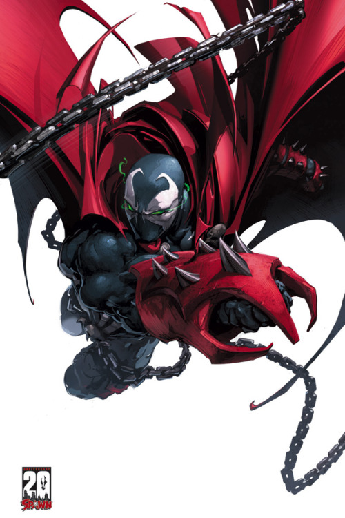 menfisc:  Spawn: 20th Anniversary Poster (MR) #1