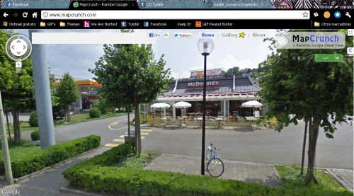 NOT GOOD This is like the fourth time i've seen that McDonalds…..Germany, why do you make your streets so confusing?!