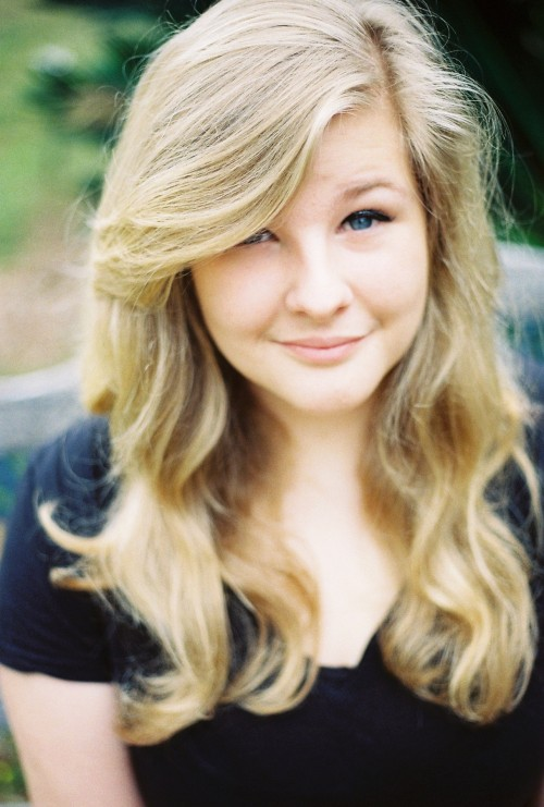 One of the many headshots my sister took of me today. Hi.