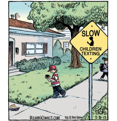 ulczyk:  Slow - Children texting