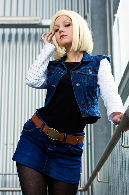 Android 18 - Don't mess with me by *Lie-chee