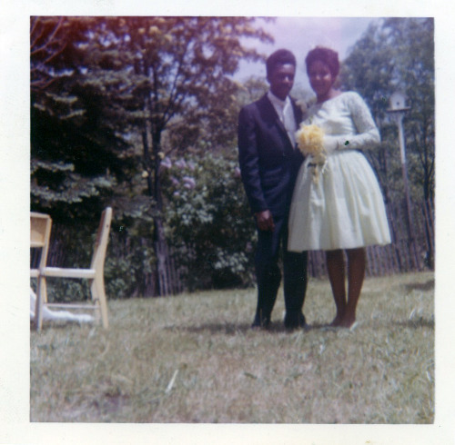 Summer Nuptials 1960's [Black Bride Series] ©WaheedPhotoArchive, 2012