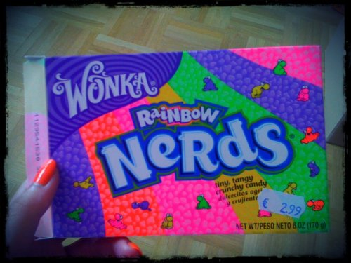Rainbow candy ! Willy Wonka factory !