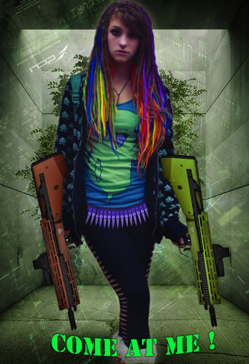 found this picture someone edited of me.. so bad ass