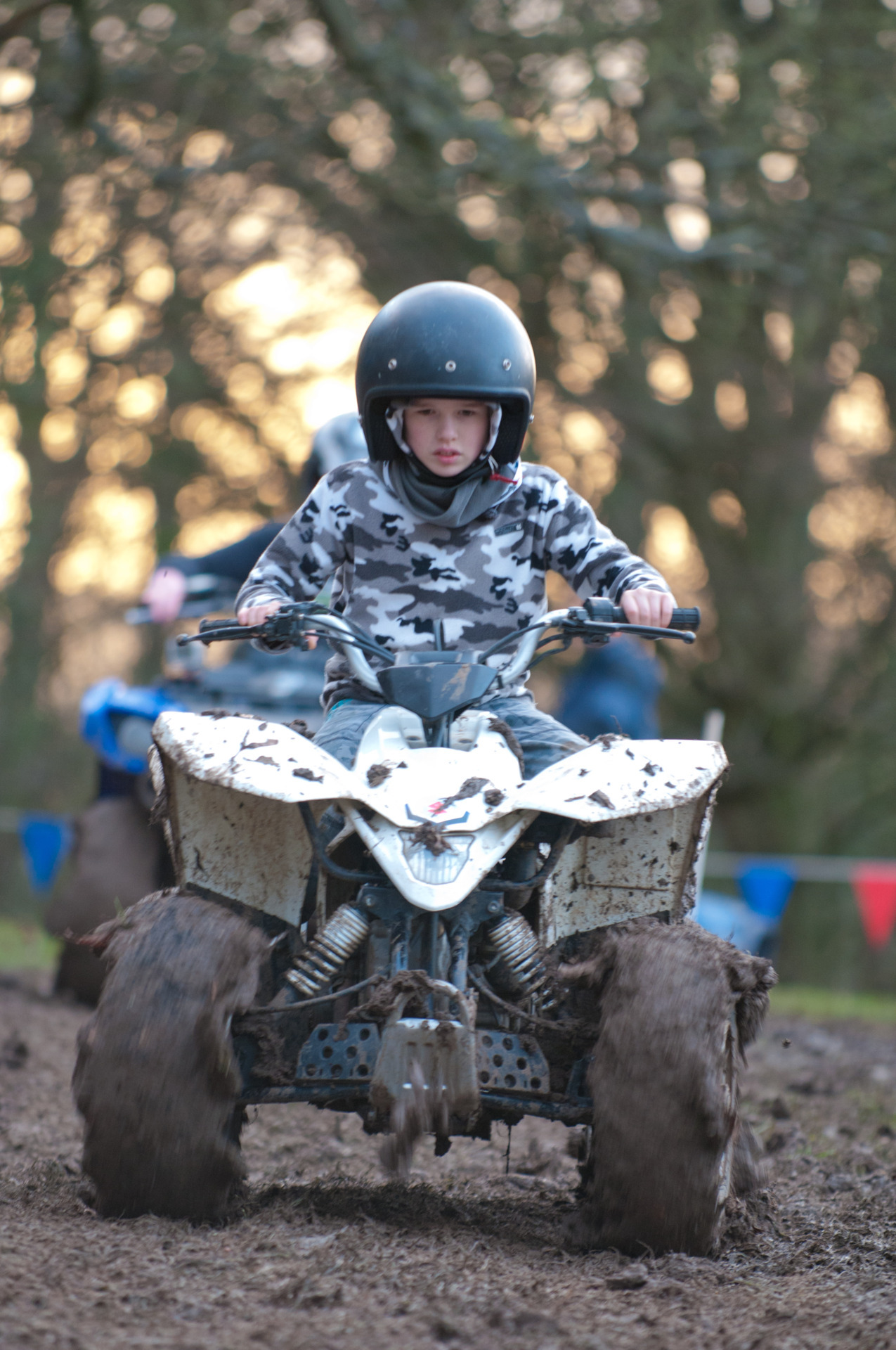 Quadbiking at #wintercamp #iScout