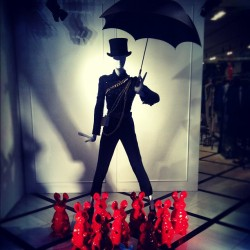 luckymag:  Meanwhile, at Lanvin. (Taken with Instagram at LANVIN)