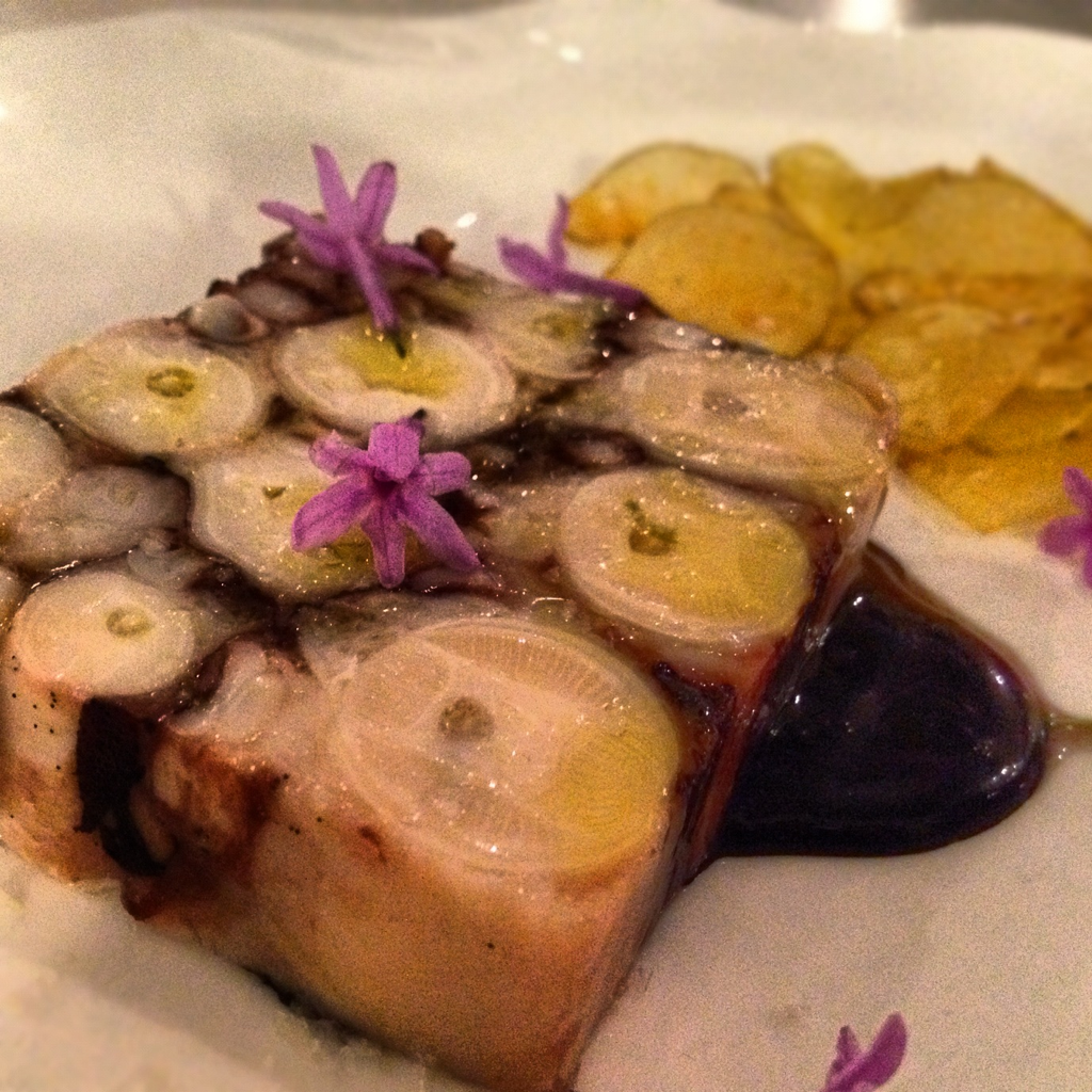 Octopus Terrine, Squid Ink Mayo @ Spring