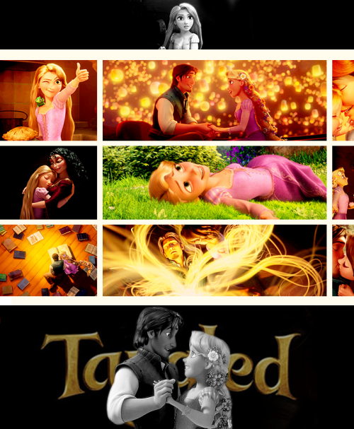 Top 15 Animated Movies of All Time↳  Tangled (2010)