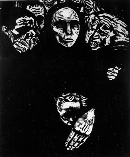 I have such a deep admiration for Kathe Kollwitz