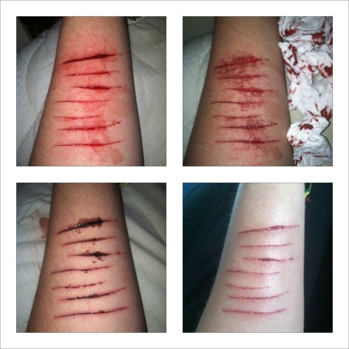 7 cuts for the 7th guy I had sex with. I honestly think this is beautiful.