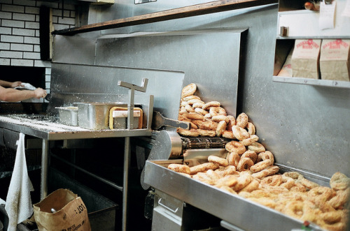 montreal bagels by kaye blegvad on Flickr.