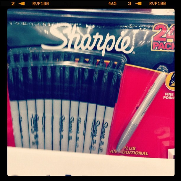 Don't forget guys! The bargain here is the free extra pen!  (Taken with instagram)