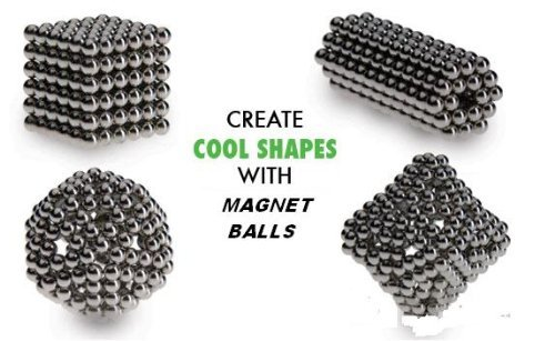 Magnet Balls Original Edition - Magnetic Earth Magnet Puzzle in Collector's Tin  Click on the picture for more details