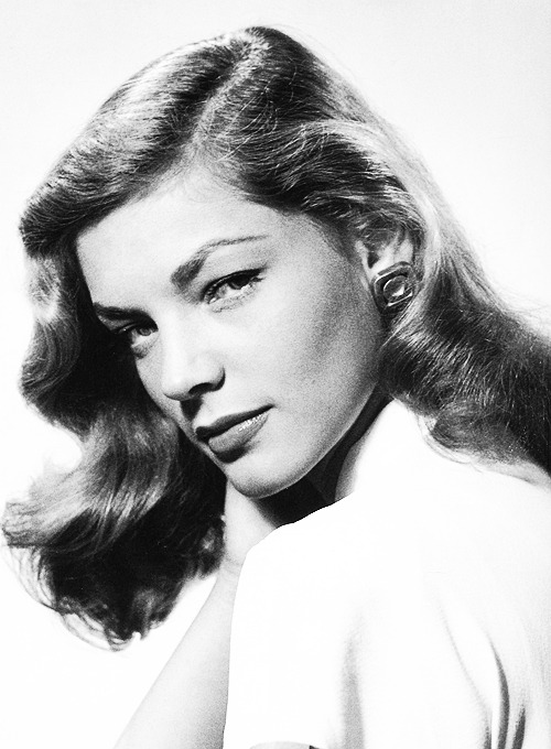 Lauren Bacall photographed by Philippe Halsman, 1944.