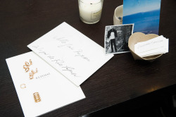 Spotted on the desk of Gaia Repossi (alongside a handwritten note from Karl Lagerfeld, swoon)…a pair of Berbère Multipiercing Earrings! (Image via The Coveteur)